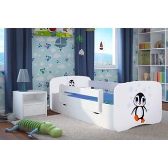 Łóżko dla dziecka z szufladą Happy 2X mix 80x180 - białe