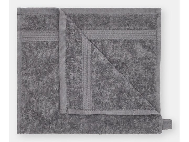 Sinsay - Bawełniany ręcznik 30x50 - Szary 30x50 cm Bawełna Kategoria Ręczniki