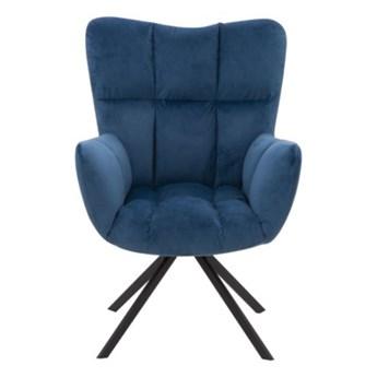 Salony Agata Fotel obrotowy CAROLEzielenie błękity