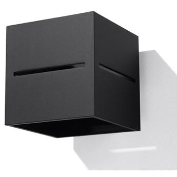 Minimalistyczny kinkiet E731-Lobi - czarny