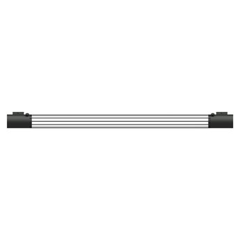 Czarny podłużny kinkiet - EX606-Valis