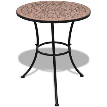Stolik ogrodowy ceramiczny Valen – terakota