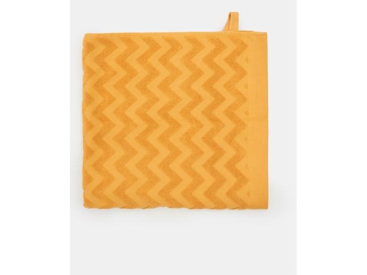 Sinsay - Bawełniany ręcznik 70x140 - Żółty 70x140 cm Bawełna Kategoria Ręczniki
