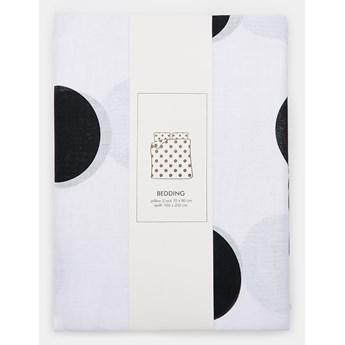 Sinsay - Komplet bawełnianej pościeli 160x200 - Biały