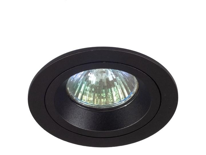 Okrągły spot stropowy downlight MR16 czarna - oprawydladomu.pl