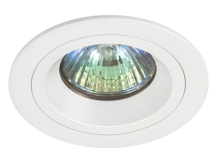 Okrągła oprawa wpuszczana downlight MR16 biała - oprawydladomu.pl Oprawa halogenowa Kolor Biały Oprawa led Kwadratowe Okrągłe Oprawa stropowa Kategoria Oprawy oświetleniowe