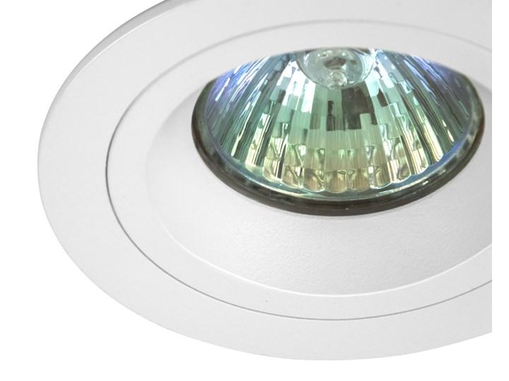 Okrągła oprawa wpuszczana downlight MR16 biała - oprawydladomu.pl Oprawa led Oprawa halogenowa Okrągłe Kwadratowe Oprawa stropowa Kolor Biały Kategoria Oprawy oświetleniowe