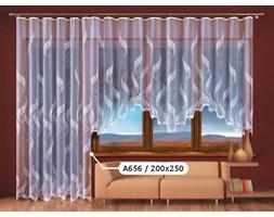 Firana Paprocie II A656 200x250 biała Wisan_DARMOWA DOSTAWA !!!