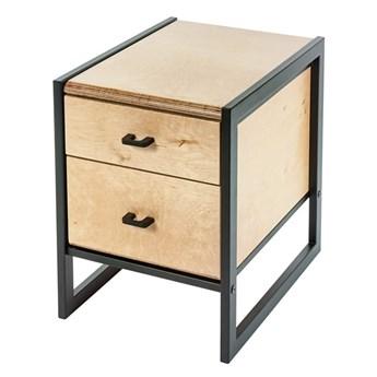 Szafka biurowa z szufladami z drewna - Verdon 12X
