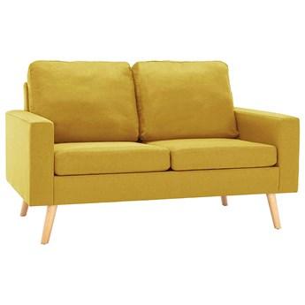 Dwuosobowa żółta sofa - Eroa 2Q