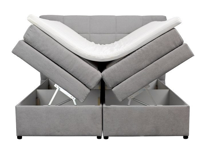 SELSEY Łóżko kontynentalne Jonko Drewno Rozmiar materaca 180x200 cm Kategoria Łóżka do sypialni