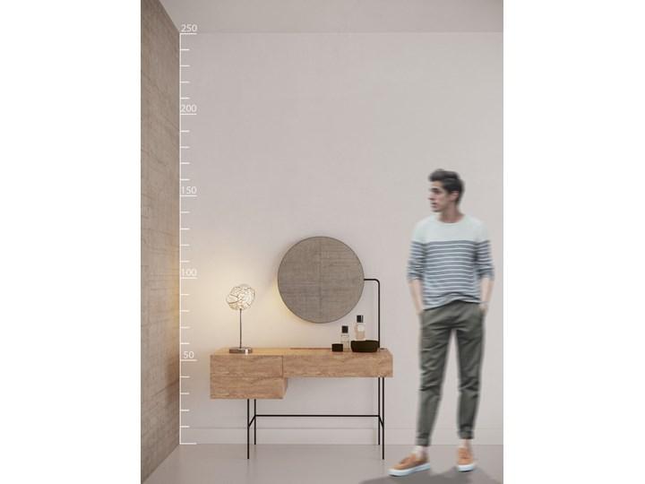 BARI TABLE Lampa dekoracyjna Lampa z kloszem Wysokość 38 cm Kolor Srebrny
