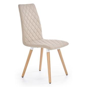 Krzesło K282 dwa kolory beżowy
