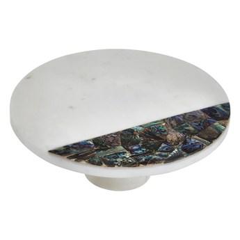 Biała marmurowa taca Premier Housewares Paua