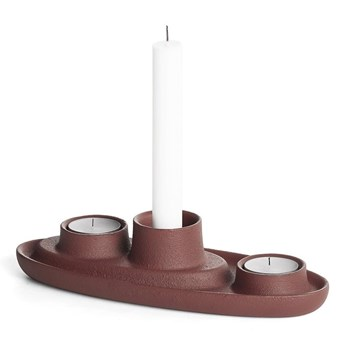 Brązowy świecznik EMKO Aye Aye Three Candles