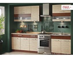 Zestaw kuchenny KAMDUO 210 + Z8 bez blatów - trawa/orzech