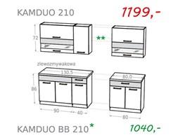 Zestaw kuchenny KAMDUO 210 - sonoma/lawa