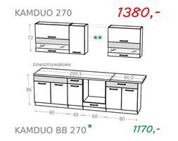 Zestaw kuchenny KAMDUO 270 - sonoma / lawa