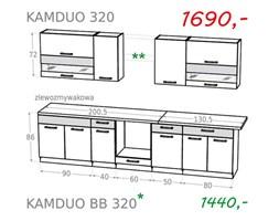 Zestaw kuchenny KAMDUO 320 - trawa/orzech