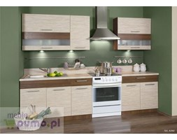 Zestaw kuchenny KAMDUO 210 bez blatów- trawa/orzech