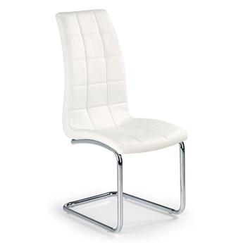 Stylowe krzesło pikowane Anthony - Biały