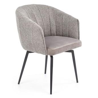 Krzesło z funkcją obracania Forner - popiel