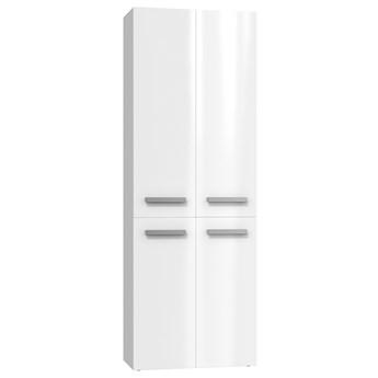 Szafka łazienkowa Malmo 3X - biały połysk
