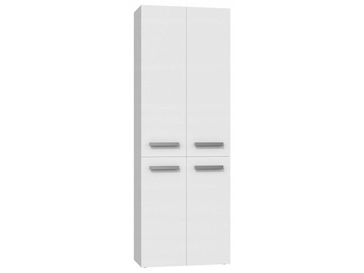 Szafka łazienkowa Malmo 4X - biała Szafki Stojące Kolor Biały Szerokość 60 cm Wysokość 174 cm Kategoria Szafki stojące