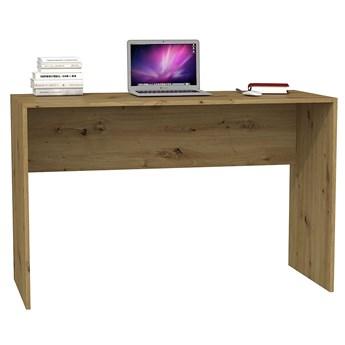 Nowoczesne biurko Luvis 2X - dąb artisan