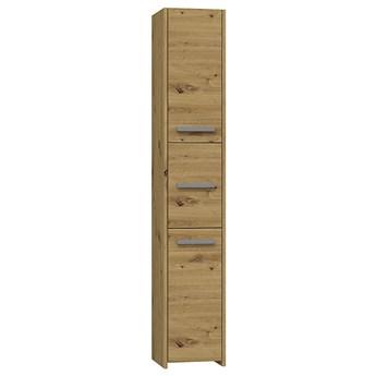 Industrialna szafka łazienkowa Helta 2X - dąb artisan