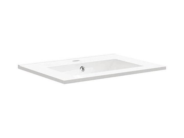 Umywalka ceramiczna 61,5 x 46 cm Prostokątne Ceramika Szerokość 61 cm Kategoria Umywalki