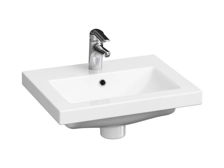 Umywalka meblowa Cersanit Como 50 cm Kategoria Umywalki Ceramika Meblowe Kolor Biały