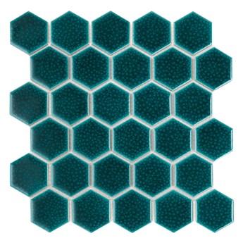 Hexagon Maui 51 28x27,1 mozaika szkliwiona