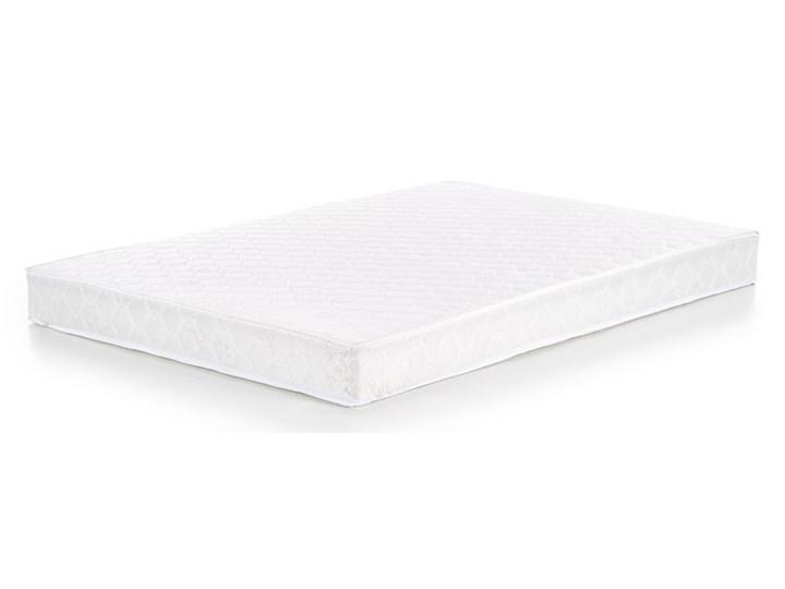 Tapicerowane ekoskórą łóżko z zagłówkiem Cassandra 160 Łóżko tapicerowane Pojemnik na pościel Bez pojemnika