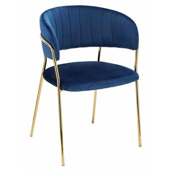 Krzesło Opera niebieskie
