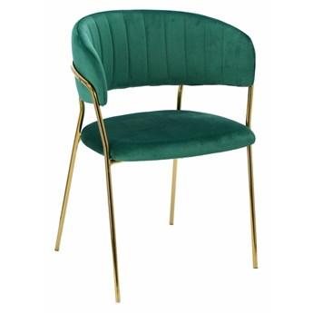 Krzesło Opera zielone