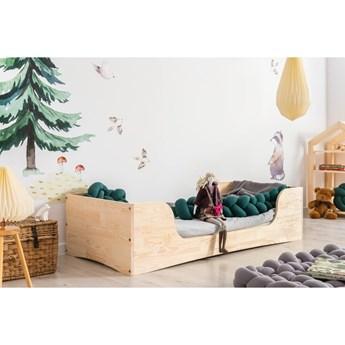 Dziecięce łóżko z drewna sosnowego Adeko Pepe Frida, 100x190 cm
