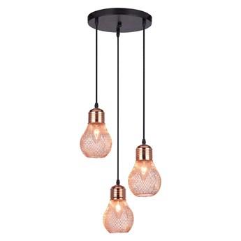 Loftowa lampa wisząca z trzema zwisami - EX486-Lilis