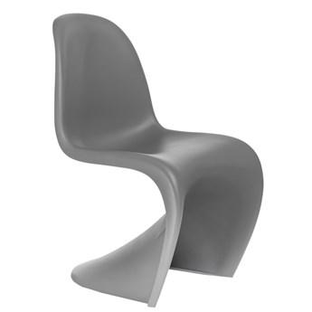 Designerskie krzesło szare - Dizzel