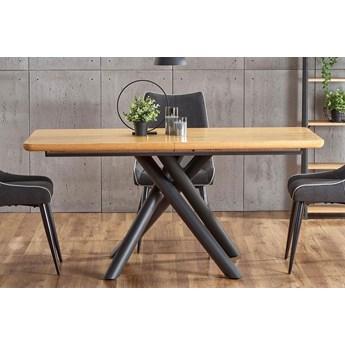 Loftowy stół rozkładany Eter - dąb naturalny