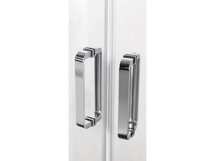 Kabina prysznicowa 5-kątna Durasan Diamond Inside 90 x 90 x 190 cm chrom Pięciokątna Rodzaj drzwi Rozsuwane