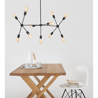 Lampa wisząca Customform TRISO 11- czarna
