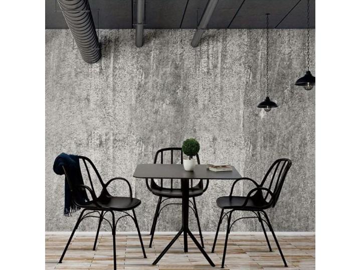 Krzesło CASTERIA czarne - polipropylen Pomieszczenie Salon Metal Tworzywo sztuczne Szerokość 55,5 cm Wysokość 82 cm Głębokość 56 cm Kategoria Krzesła kuchenne