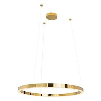 MOOSEE Lampa wisząca RING 90 złota - LED, chromowane złoto
