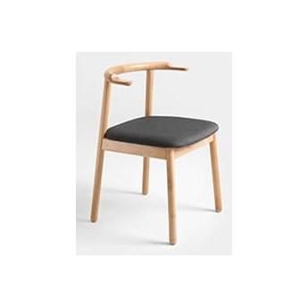 Krzesło drewniane Customform KUBRIK - naturalny