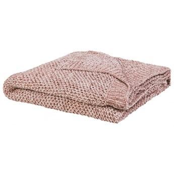 Koc 150 x 200 cm różowy HAIFA kod: 4251682253901