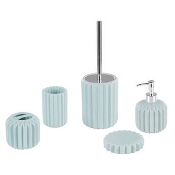 5-częściowy zestaw akcesoriów łazienkowych niebieski GORBEA kod: 4251682254922