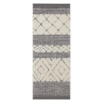 Kremowo czarny chodnik Mint Rugs Todra, 80x200 cm
