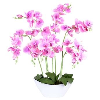 Storczyk sztuczny 56 kwiatów różowy