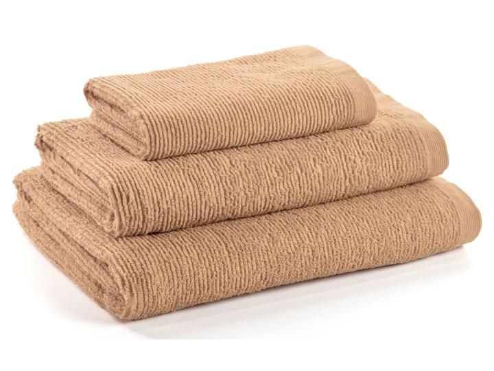 Ręcznik łazienkowy Miekki 100x50 cm beżowy 50x100 cm Komplet ręczników Bawełna Ręcznik kąpielowy 40x70 cm Kategoria Ręczniki